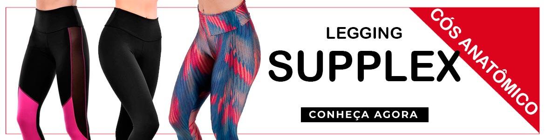 Legging Suplex Cós Anatômico