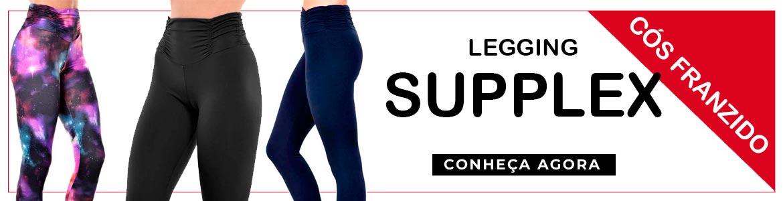 Legging Suplex Cos Franzido