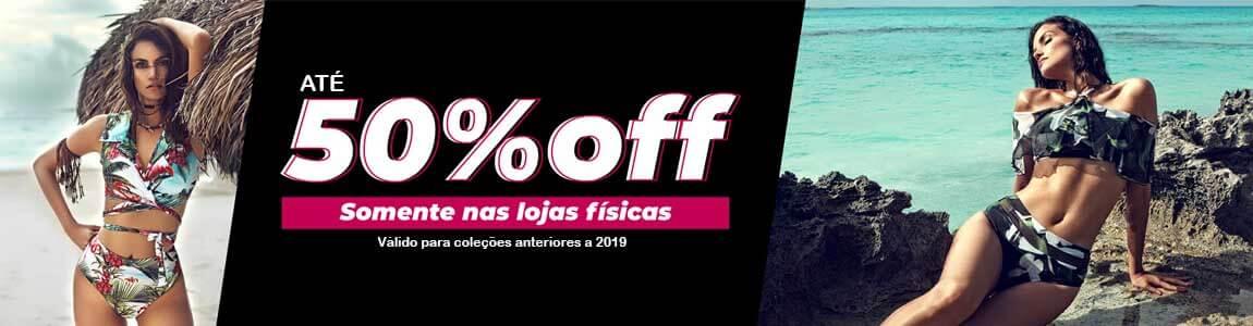 Compre moda verão 2019 50%