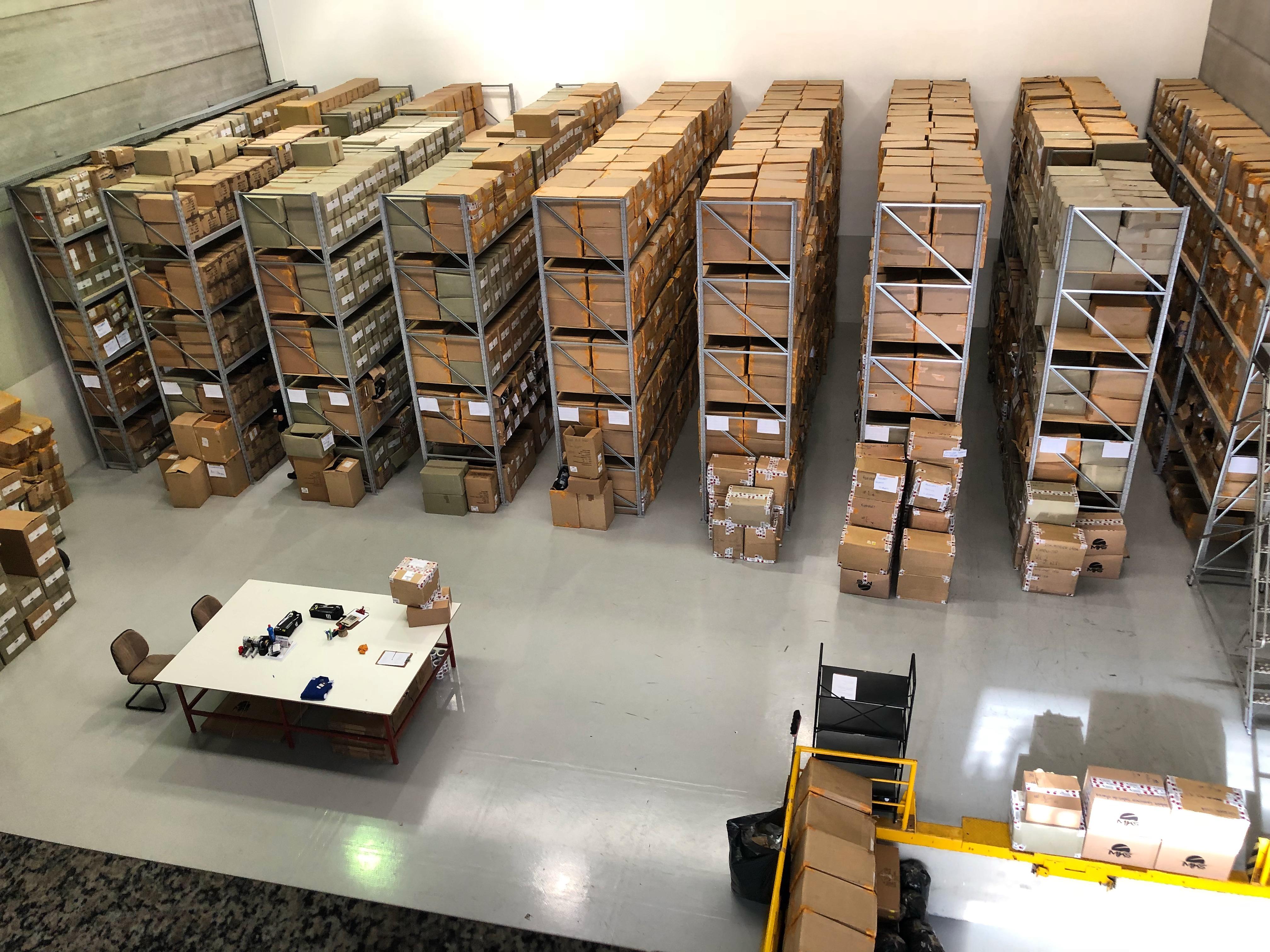 Centro de Distribuição da MKS Luvas de Boxe e Artigos para Artes Marciais.