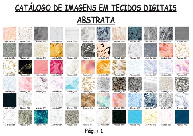 Catálogo de Imagens de Tecidos Digitais da Estampa Personalizada