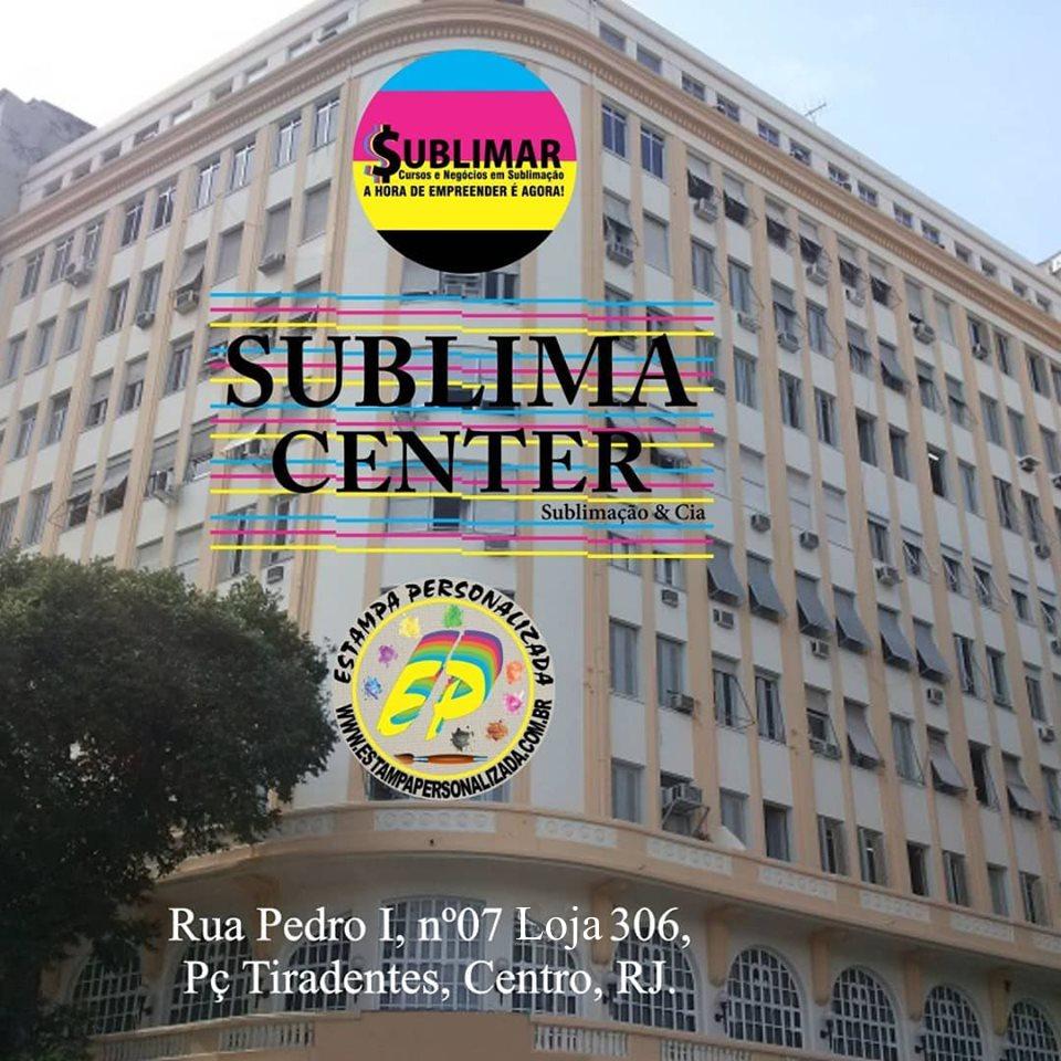Prédio da Sublima Center e Estampa Personalizada