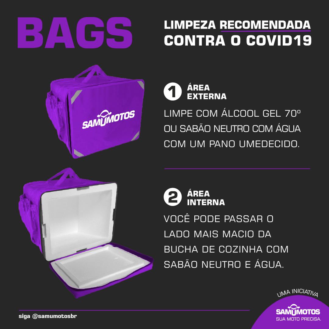 Limpeza nas Bags