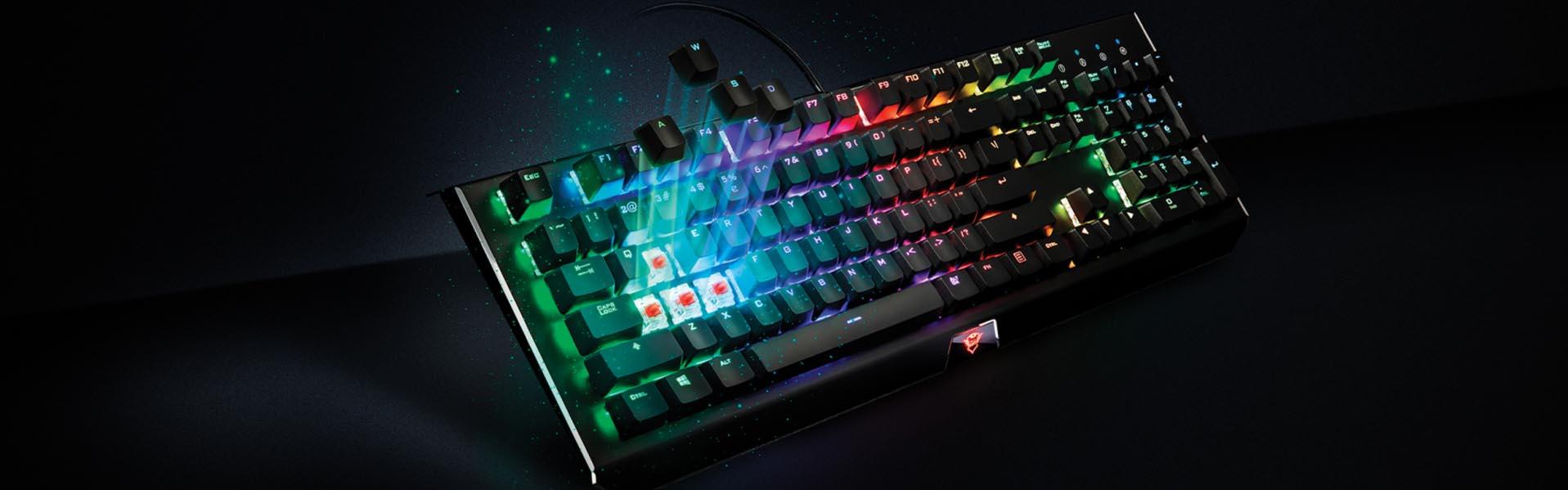 teclado mecânico gamer