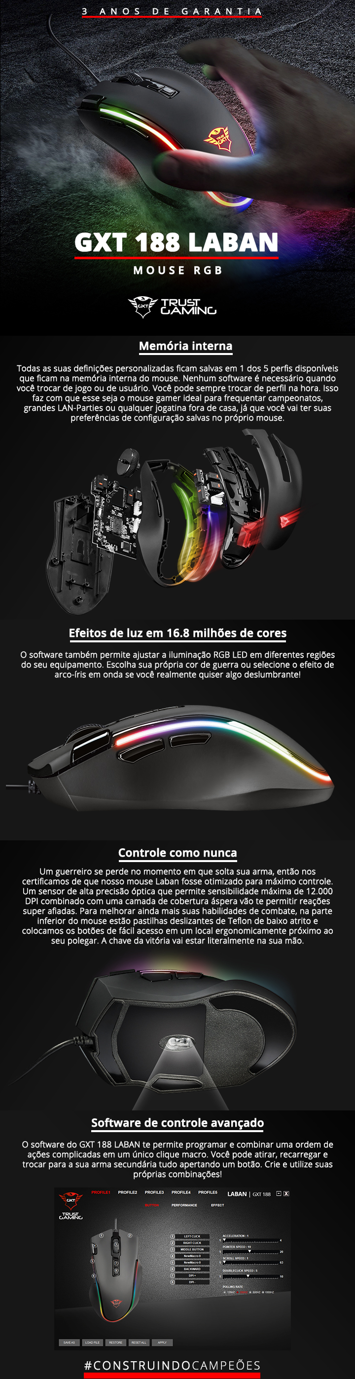 mouse gamer rgb trust gaming