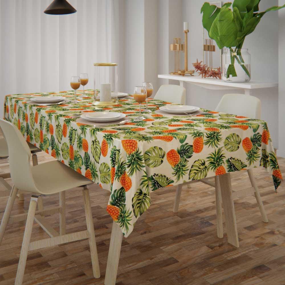 toalha de mesa com caimento para o dia a dia
