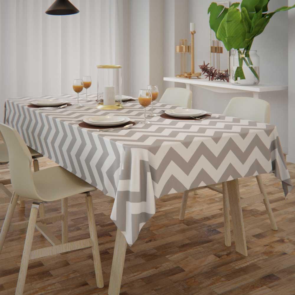 toalha de mesa com caimento de tecido