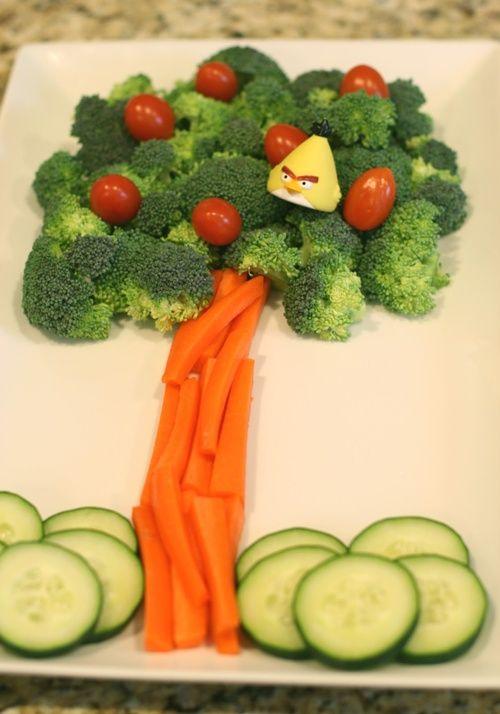 comida saudável para o café da manhã de dias das crianças