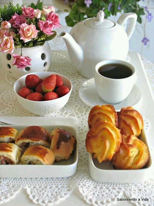 decoração de mesa de café da manhã sem embalagens
