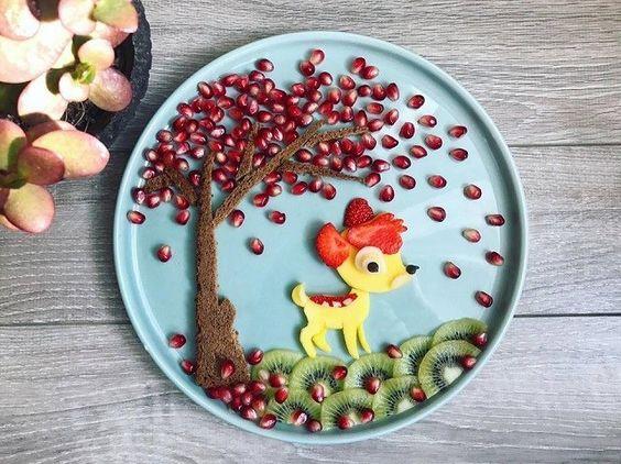 decoração de mesa com personagens para café da manhã dia das crianças