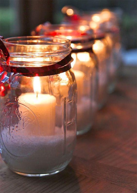 decoração de mesa natalina com velas e bandeja blog mesa chiq