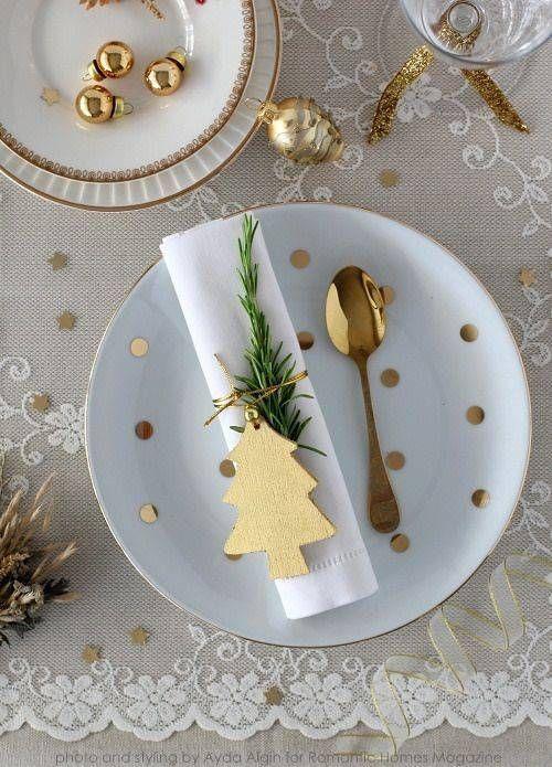 detalhes em dourado dicas de decoração natalina blog mesa chiq