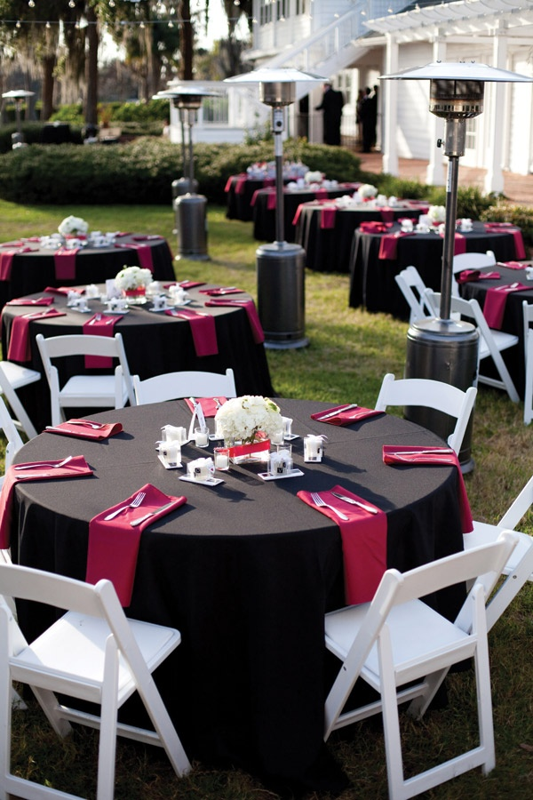 toalha de mesa preta para casamento blog mesa chiq