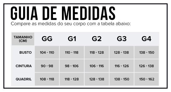 Guia de Medidas Plus Size