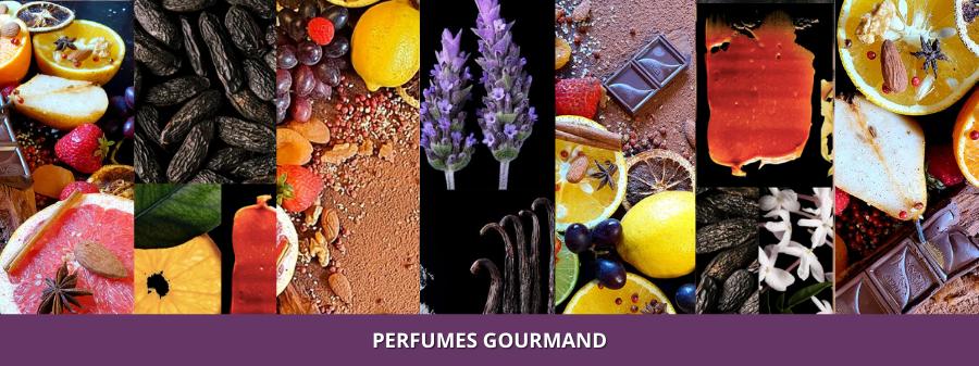Perfumes Gourmand, Notas gourmand Perfumer