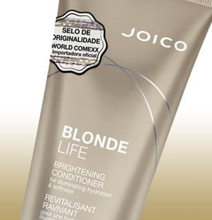 Condicionador Iluminador Joico Blonde Life Detalhe