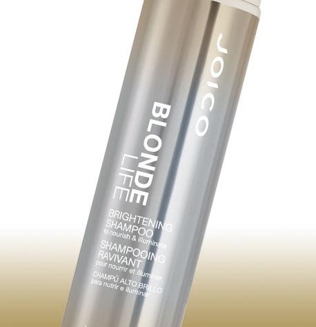 Shampoo Iluminador Joico Blonde Life para Cabelos Loiros 300ml Detalhe