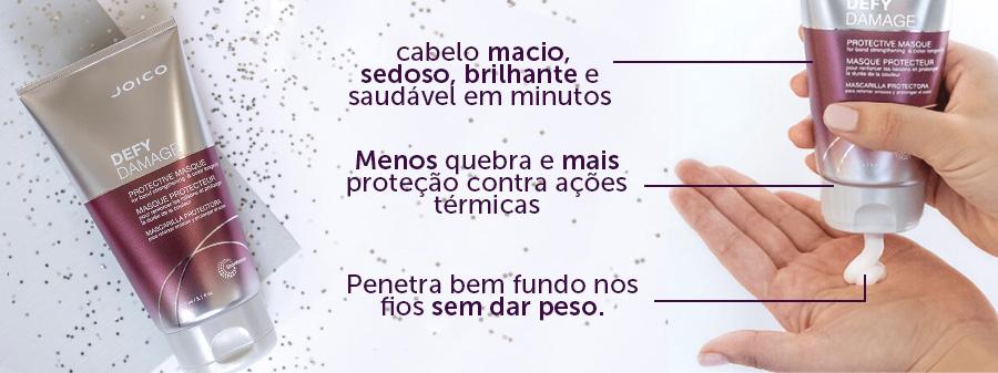 Máscara Joico Defy Damage para Longevidade da Cor 150 ml Perfumer