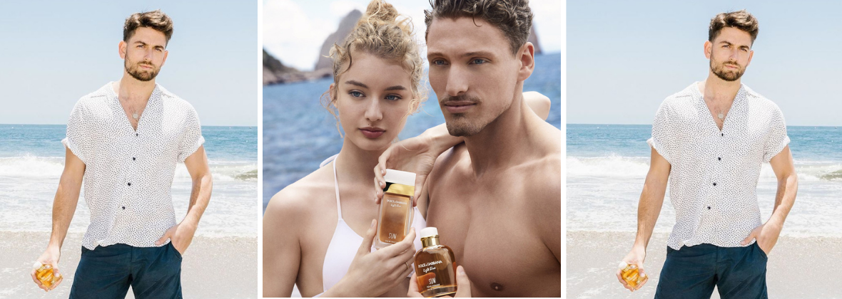 perfume masculino Light Blue Sun Dolce e Gabbana Perfumer