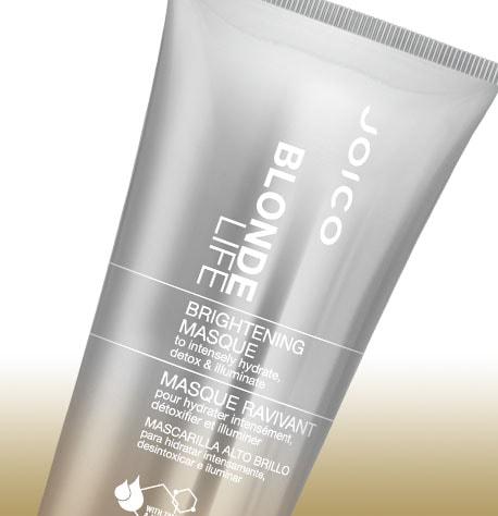 Máscara para Iluminação e Hidratação Joico Blonde Life 150ml Detalhe