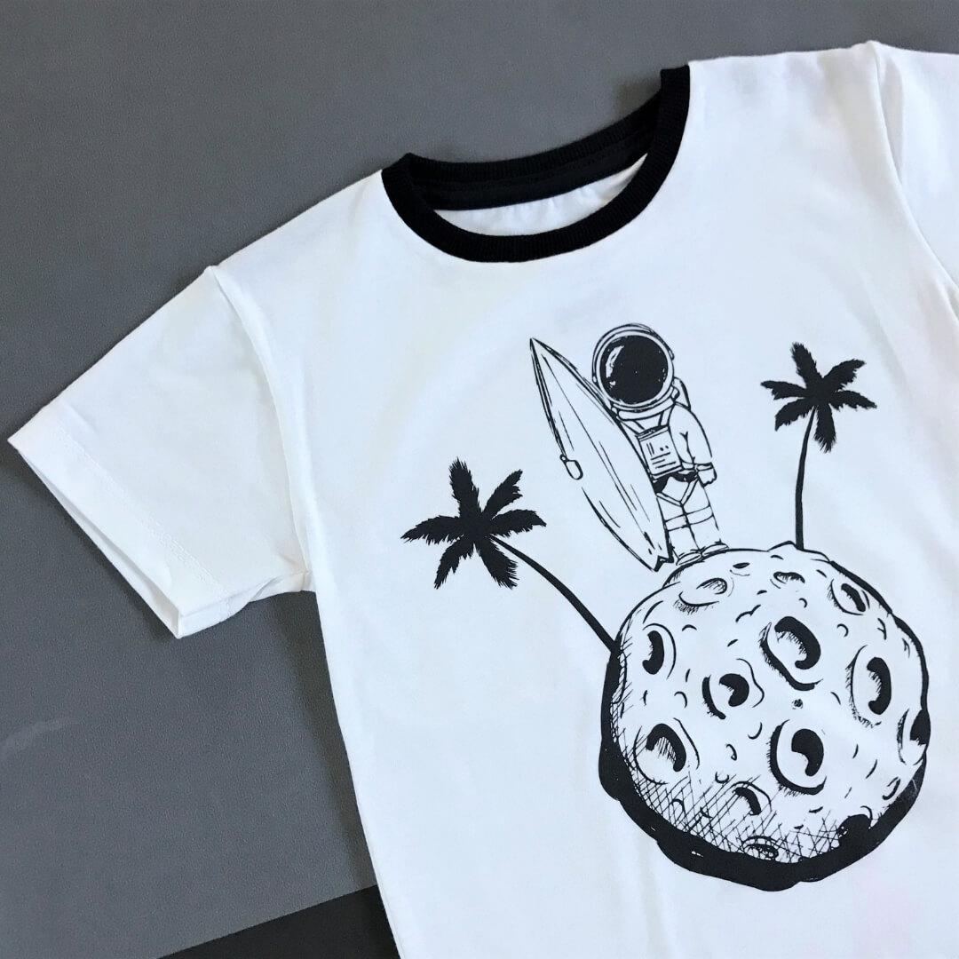camiseta infantil confortável