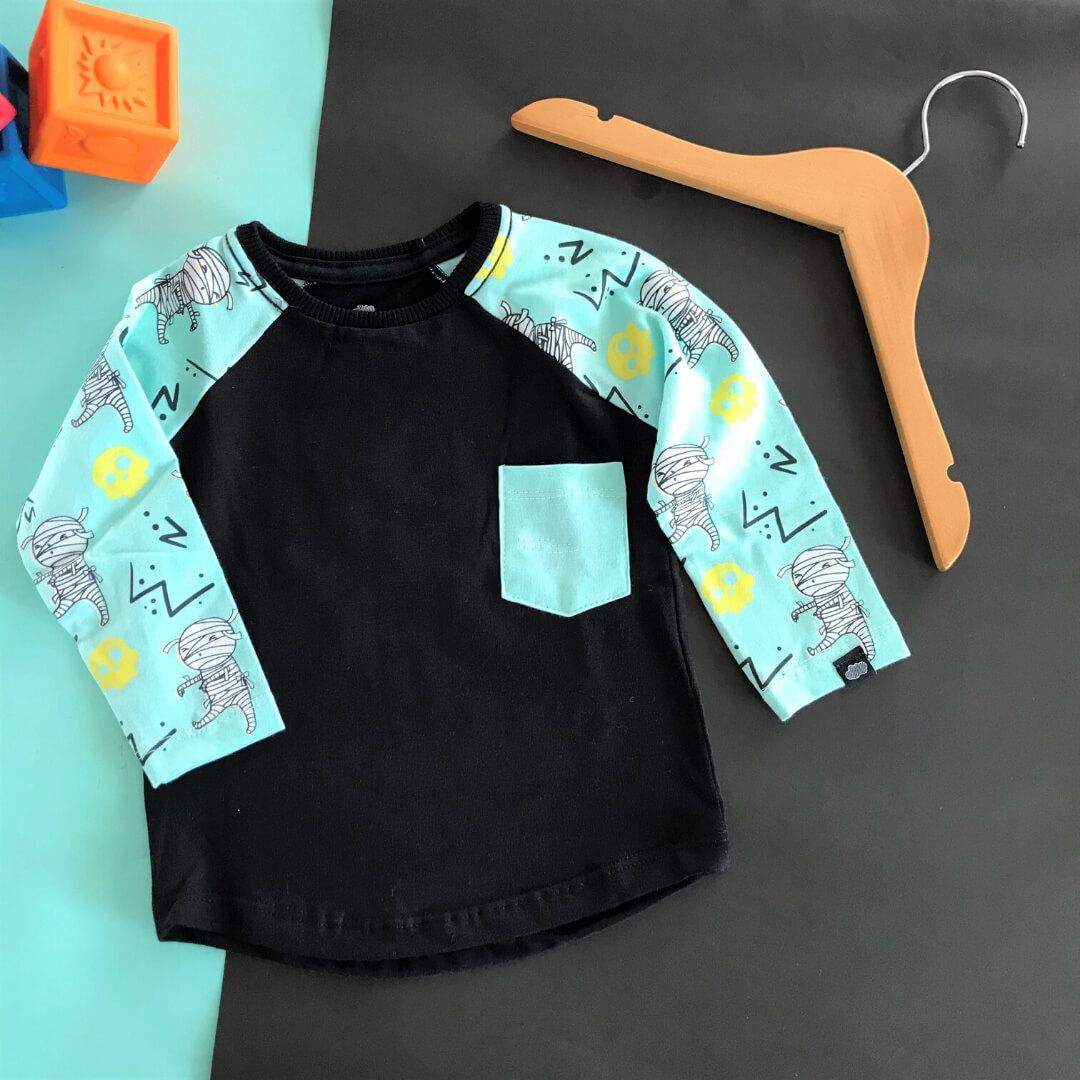 camiseta longa infantil