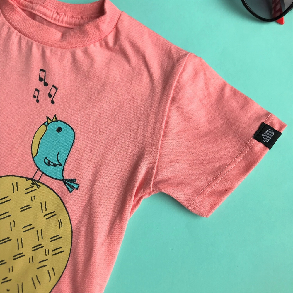 camiseta infantil unissex