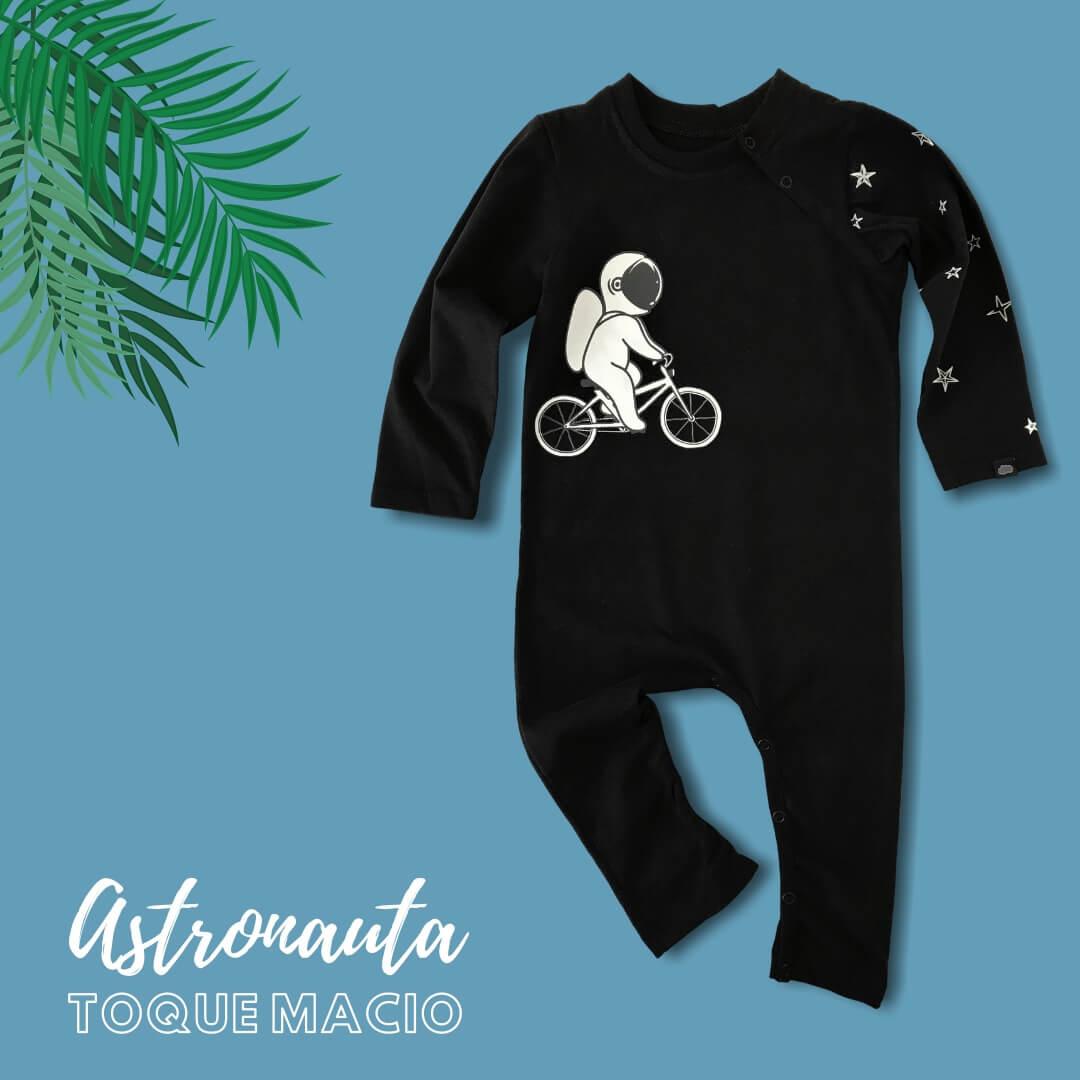 macacão bebê astronauta