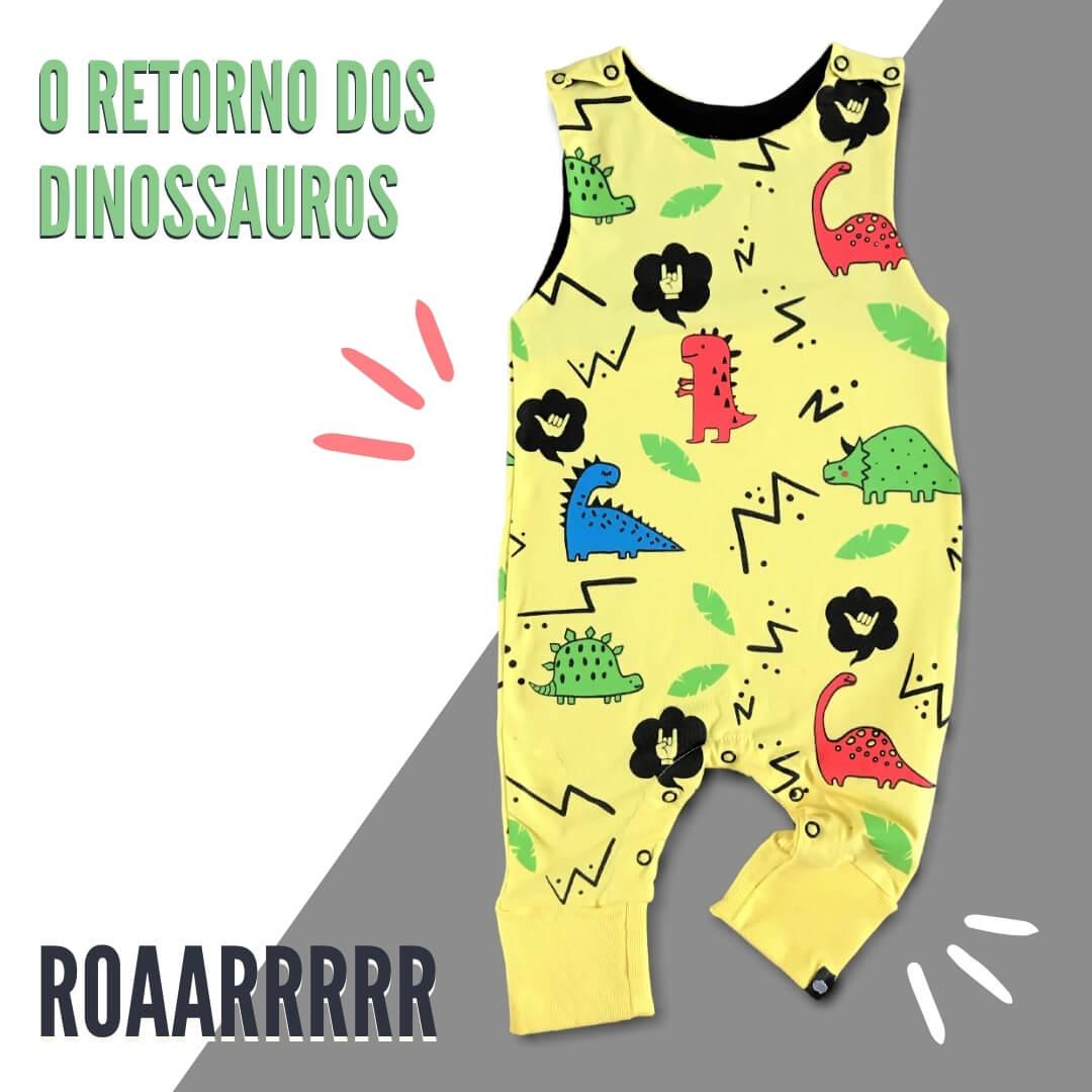Roupa infantil Dinossauros