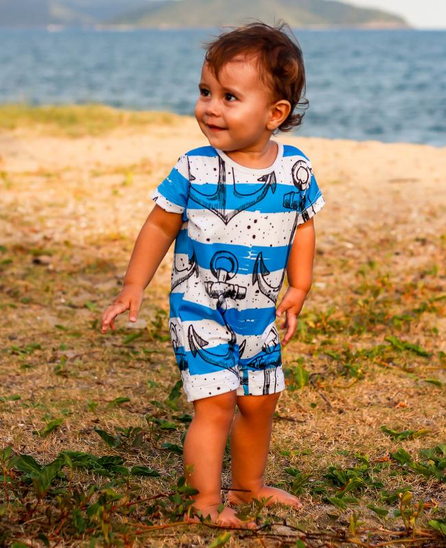 moda praia bebe com proteção solar