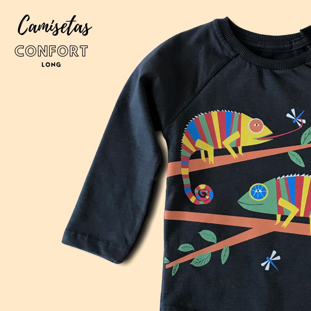 camiseta para crianças