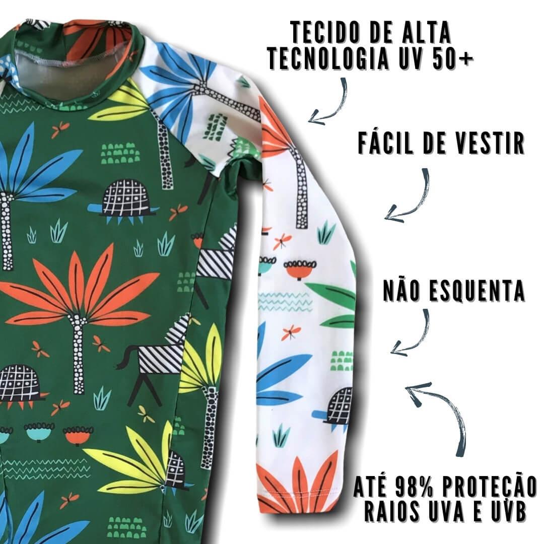 camiseta com proteção uv 50+