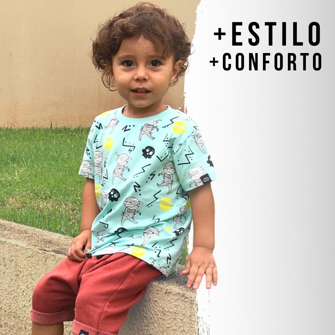 Short Infantil confortável