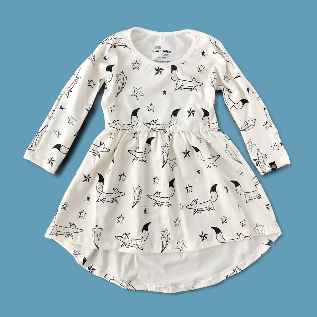 vestido infantil confortável