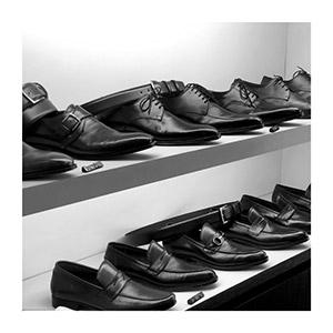 Vitrine Loja Pacco Sapatos no Itaim Bibi em São Paulo