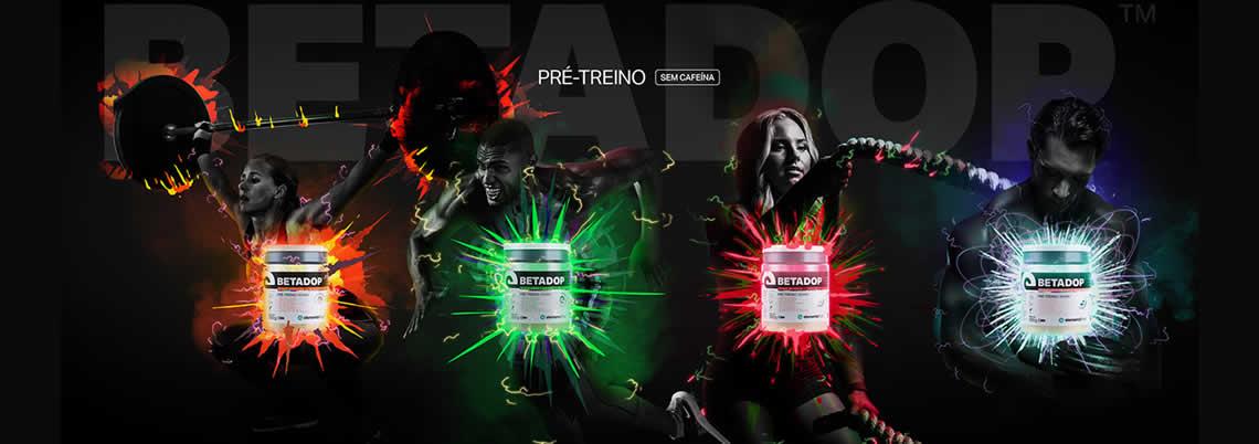 Betadop Pré Treino Zero Cafeína 300g Elemento Puro