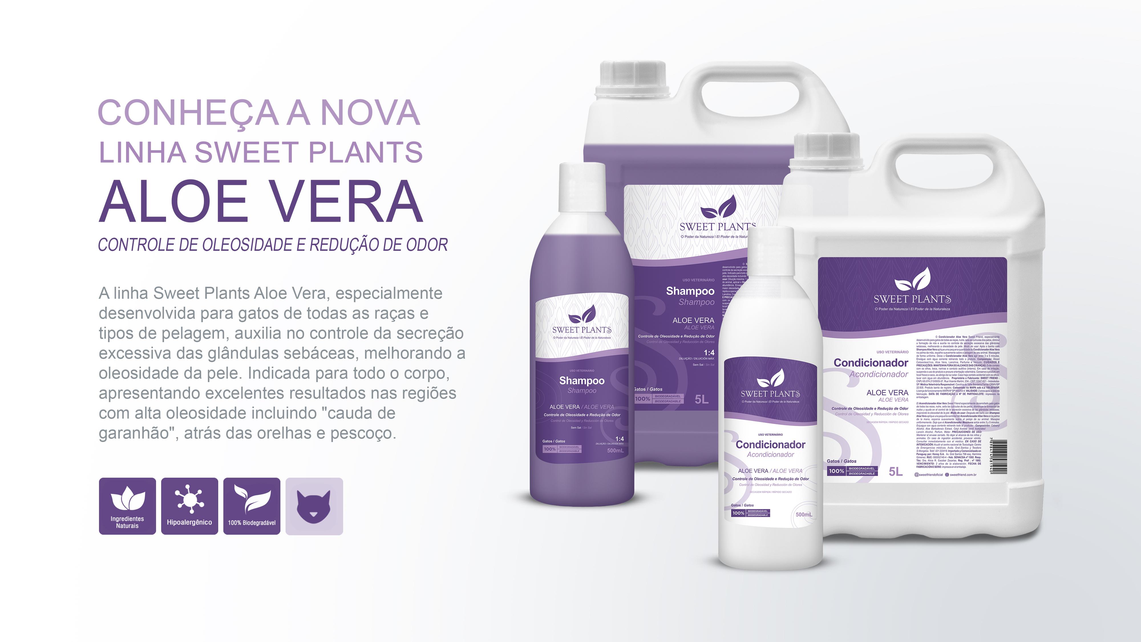 Sweet Friend - Linha Sweet Plants - Aloe Vera