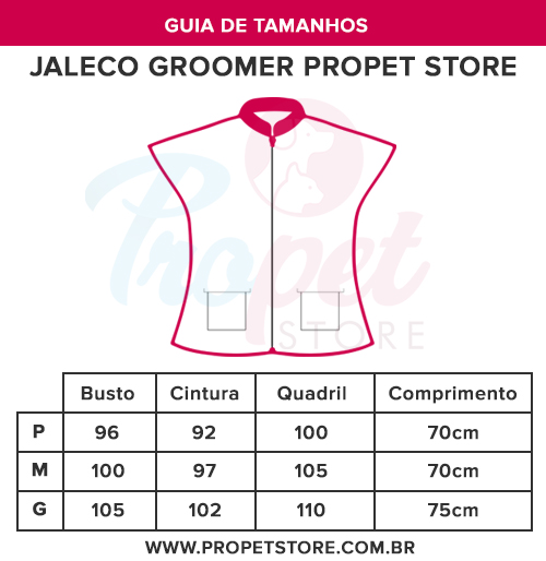 Jalecos groomer propet store