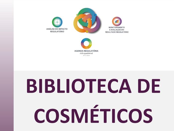 Biblioteca de cosméticos ANVISA Brasil