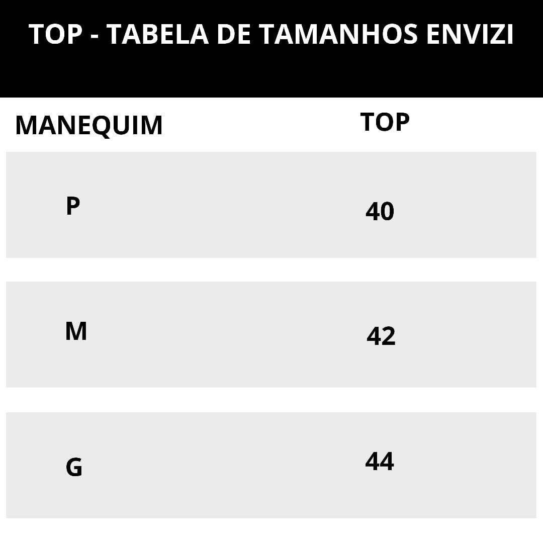 tabela de medidas biquini top fixo
