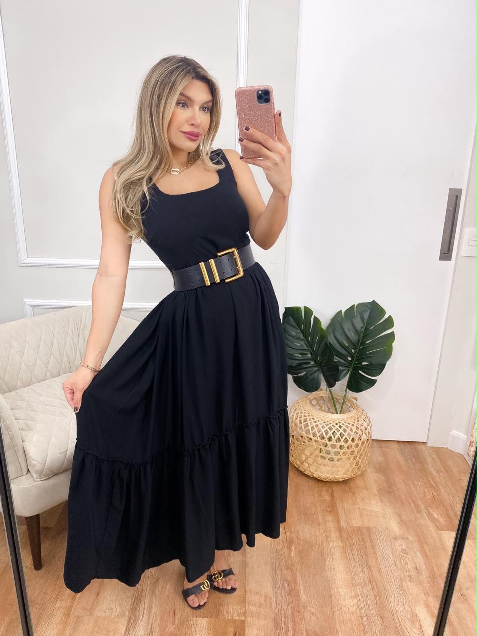 Vestido Mullet Linho
