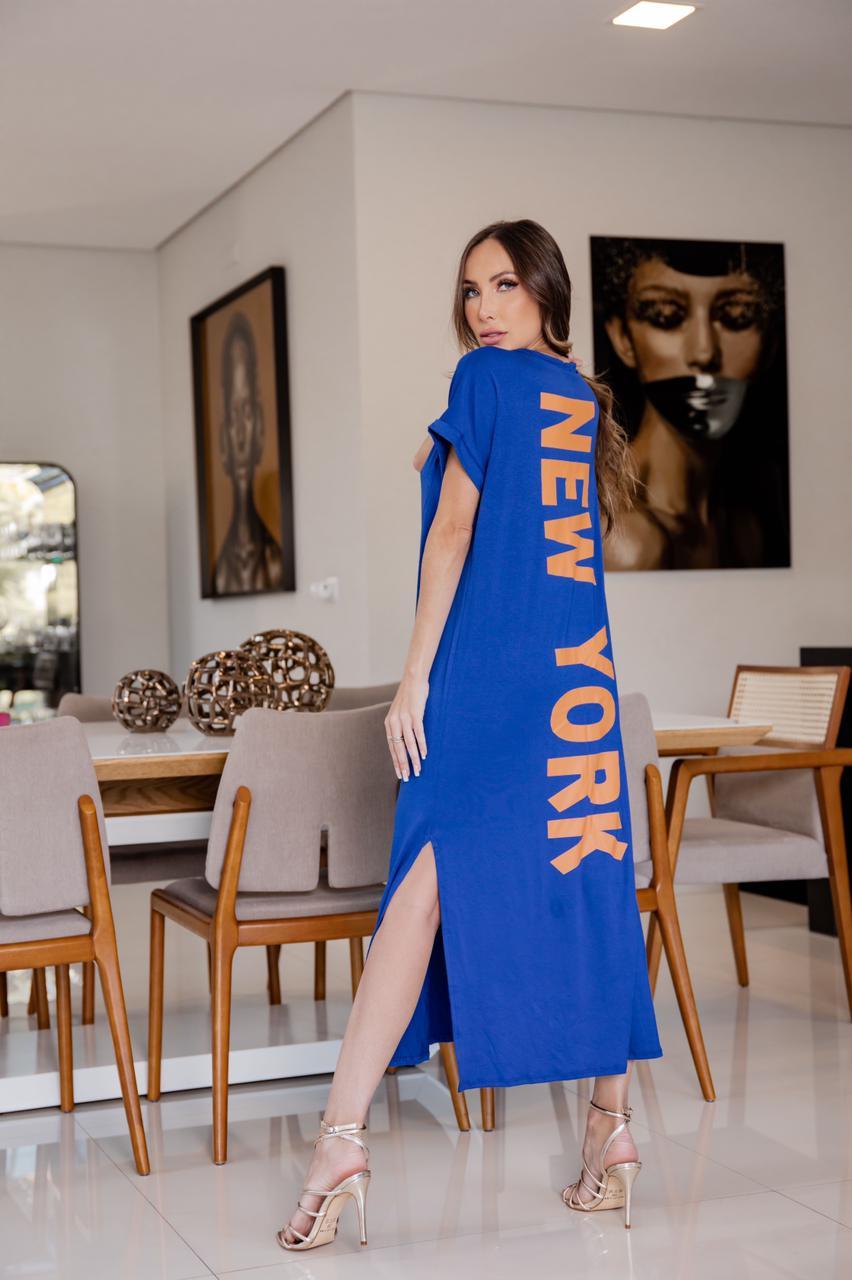 Vestido Malha New York