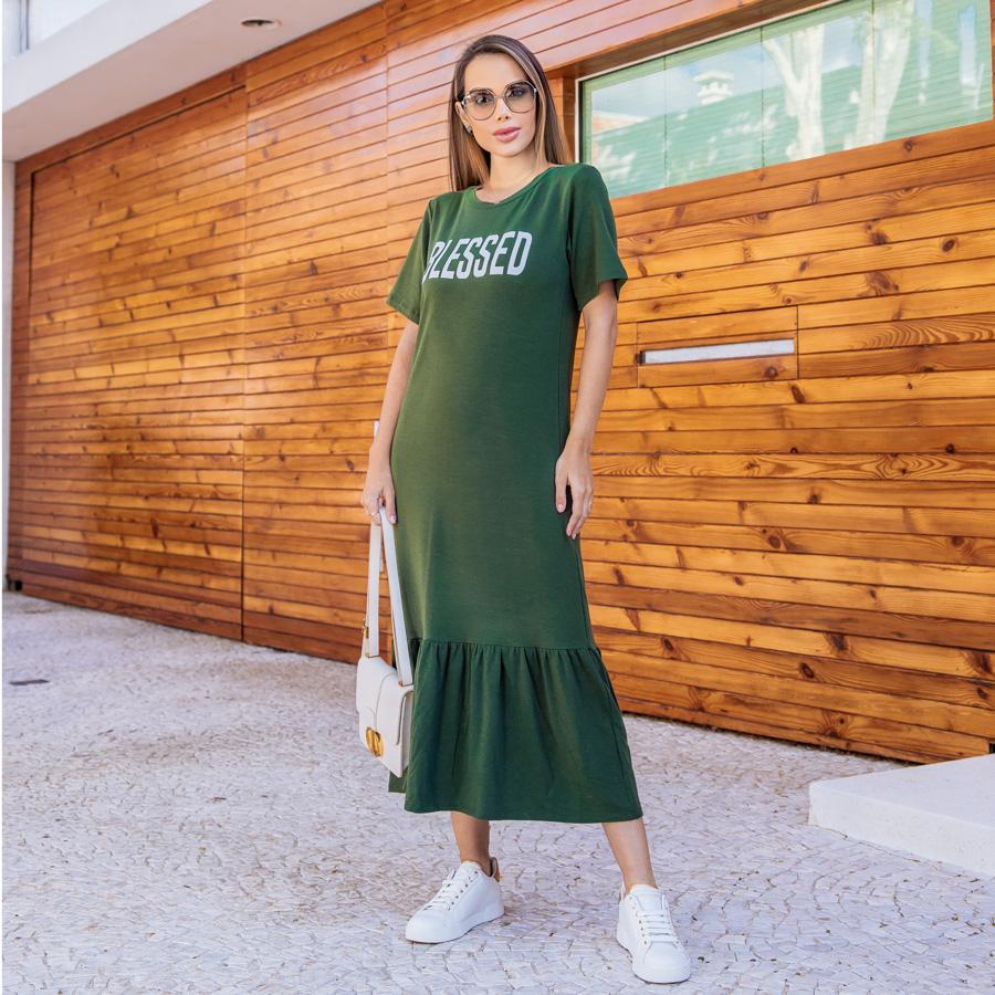 Vestido Blessed Verde