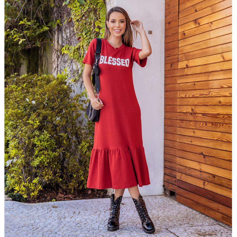 Vestido Blesses Coral