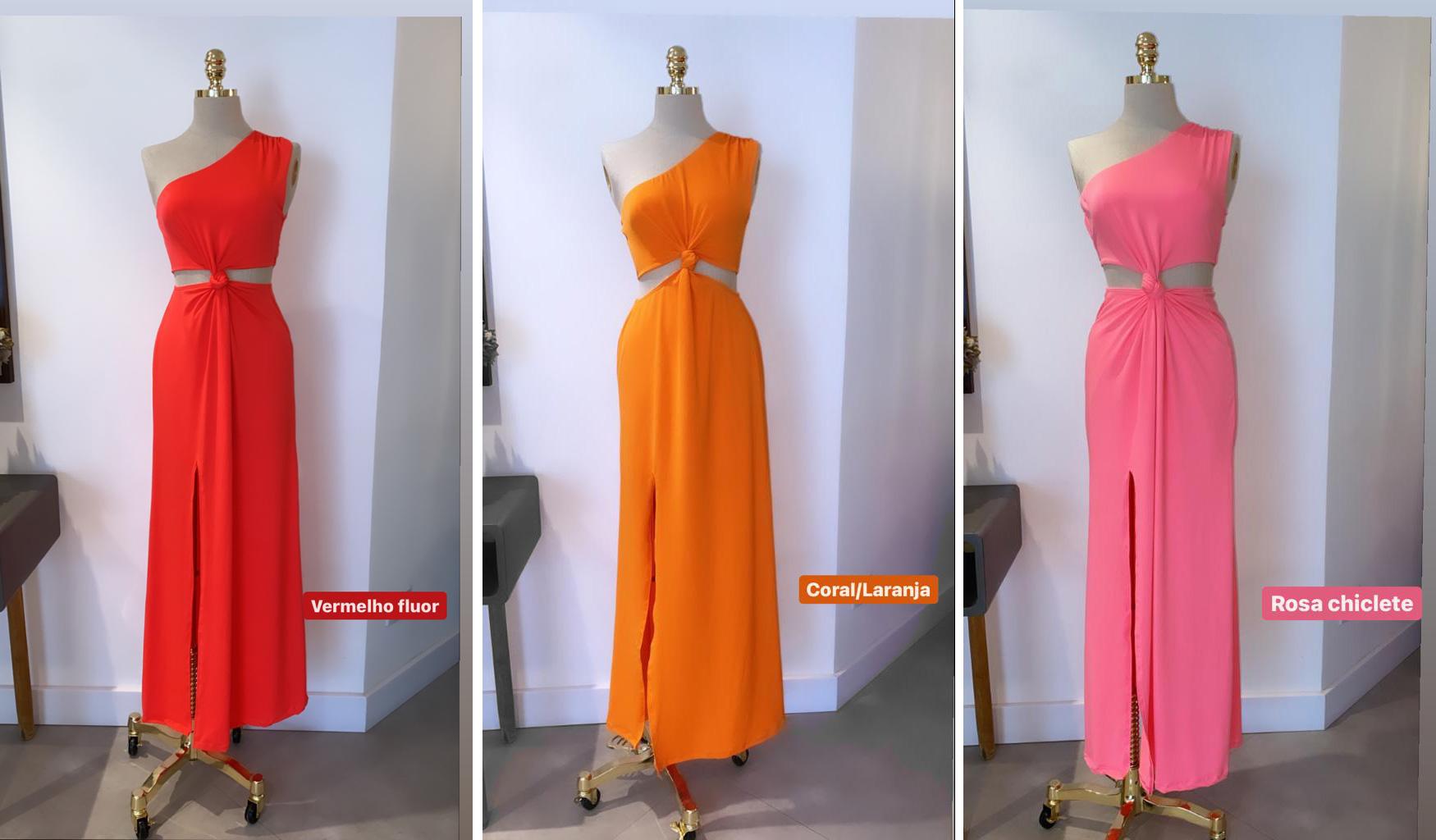 Vestido Milena FLuit Cores