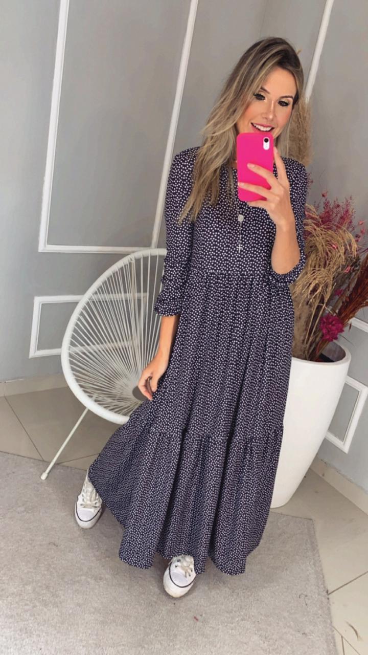Vestido Zara PB Pois