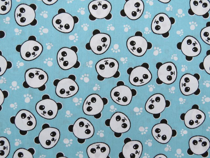 estampa panda tifany