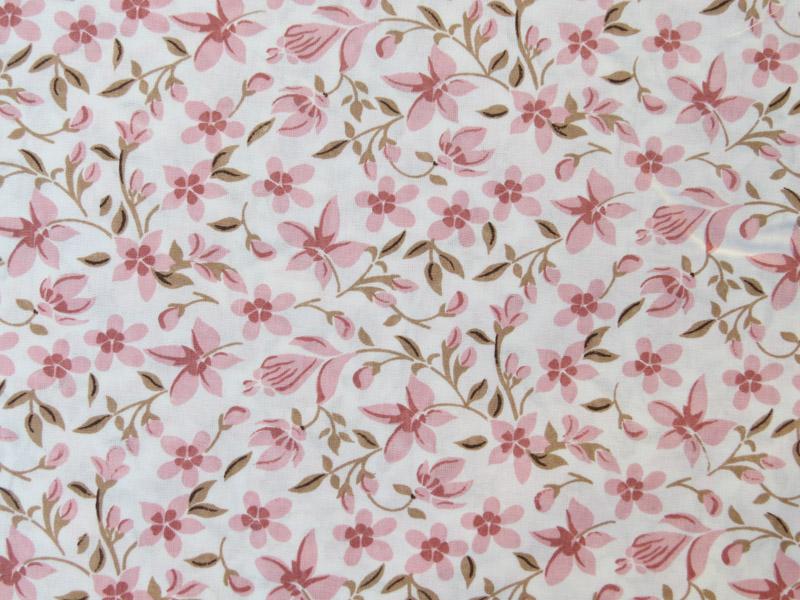 estampa floral rose