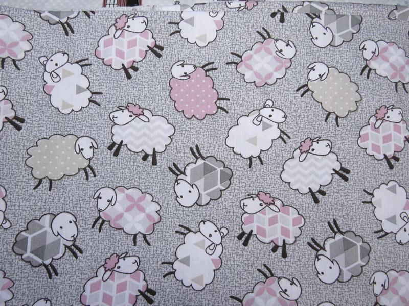 estampa ovelha rosa