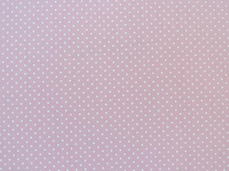 estampa mini poa rosa bebe